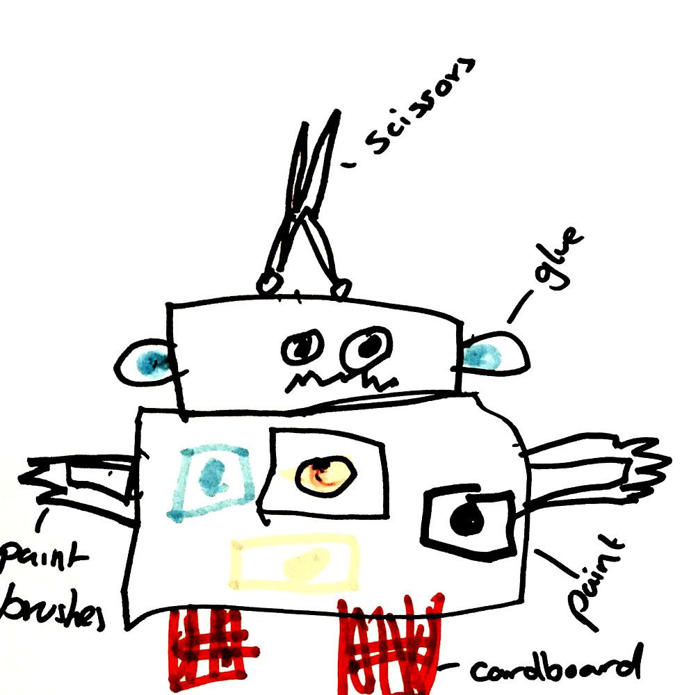 Art Robot Little Inventors