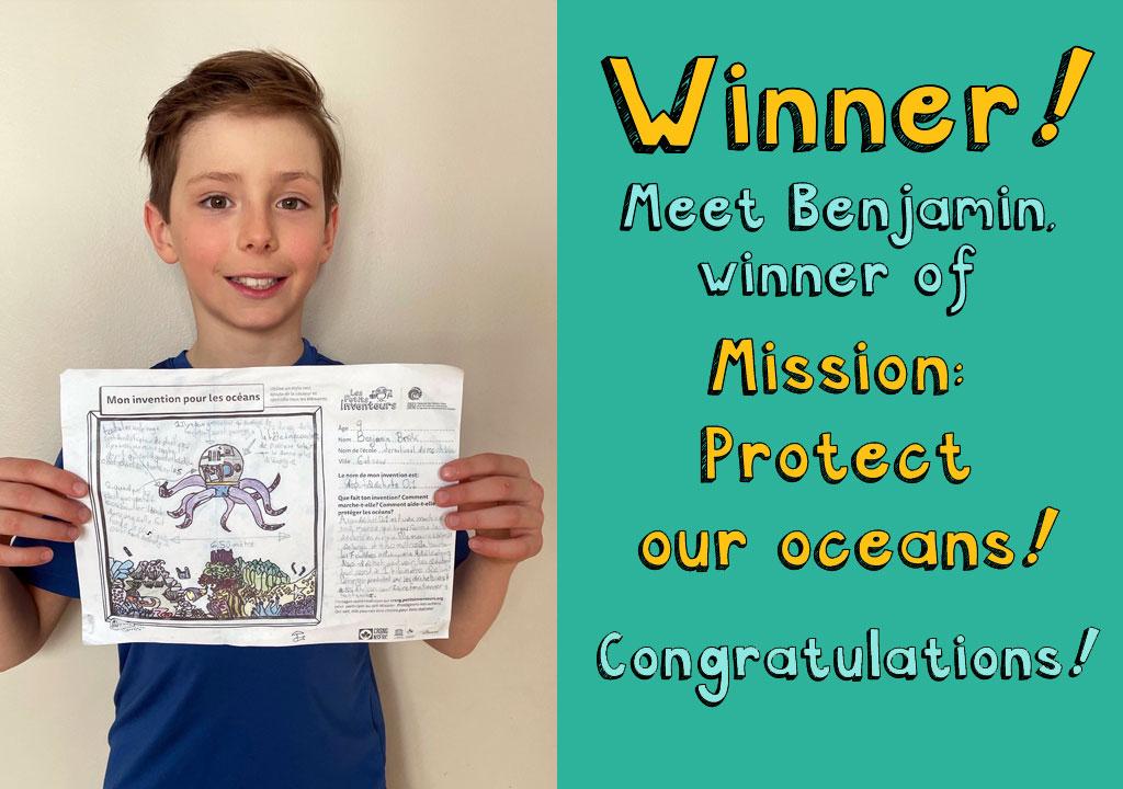 Benjamin winner